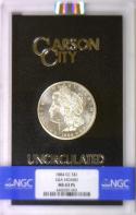 1884-CC GSA Morgan Dollar NGC MS-63PL In Black Box With Card
