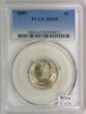 1899 Liberty Nickel PCGS MS-65; Nice Coin!