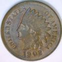 1902 Indian Head Cent; Lustrous Choice AU-Unc.