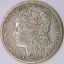 1885-S/S Morgan Dollar; XF; VAM-6, Top-100