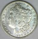 1890-O Morgan Dollar; Choice AU