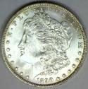 1890-O Morgan Dollar; Lustrous Choice BU