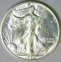 1936 Walking Liberty Half Dollar; Choice AU-BU