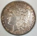 1885 Morgan Dollar; AU; Nice Original Tone