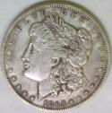 1893-CC Morgan Dollar; XF