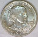 1979-P Near Date, Wide Rim Susan B. Anthony Dollar; Nice BU