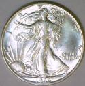 1936 Walking Liberty Half Dollar; Choice BU++; Nice White