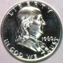 1960 Franklin Half Dollar; Gem Proof