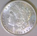 1879 Morgan Dollar; Choice AU+