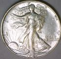 1937 Walking Liberty Half Dollar; Choice AU