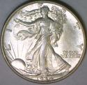 1934 Walking Liberty Half Dollar; Nice Choice Unc.