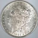 1882 Morgan Dollar; Choice AU