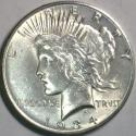1934-D D.D.O. Peace Dollar; Choice AU-Unc; VAM-3, Top-50; A Great Doubled Die!