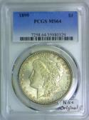 1899 Morgan Dollar PCGS MS-64; Nice Original!