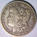 1903-S Morgan Dollar; Nice VF