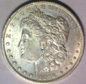 1896-O Morgan Dollar; Choice AU