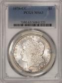 1878-CC Morgan Dollar PCGS MS-63