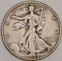 1934-S Walking Liberty Half Dollar; Nice Original XF