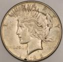 1926-S Peace Dollar; Nice XF+