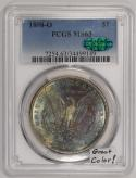 1898-O Morgan Dollar PCGS MS-63 With CAC; Great Color!