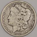 1899 Morgan Dollar; VG; Key Date! Low Mintage of 330,000
