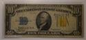 1934-A $10 Silver Certificate North Africa WW2 Emergency Issue; F-VF