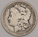 1894-S Morgan Dollar; Nice Original VG