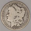1892-S Morgan Dollar; Nice Original G-VG