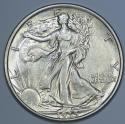 1935 Walking Liberty Half Dollar; Choice AU-BU