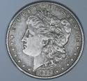 1889-S Morgan Dollar; Nice Original Choice XF