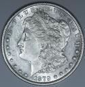 1879-O Morgan Dollar; Lustrous Choice AU