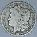 1879-CC Morgan Dollar; Nice Original VG; Key Date!