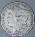 1892-CC Morgan Dollar; F-VF