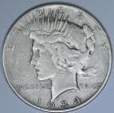 1934-S Peace Dollar; Nice Original VF; Key Date!