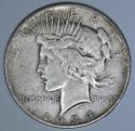 1934-S Peace Dollar; Nice Original F-VF; Key Date!