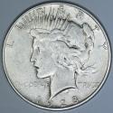 1928-S Peace Dollar; Nice XF