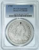 1799 Draped Bust Dollar PCGS VG Detail