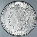 1898-S Morgan Dollar; Choice AU