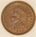 1895 Indian Head Cent; Choice Uncirculated