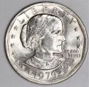 1979-P Near Date, Wide Rim Susan B. Anthony Dollar; Nice BU!