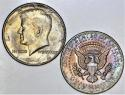 1964 (2) Pieces Kennedy Half Dollars; Choice Uncirculated; Nice End Roll Toning!