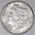 1888-S Morgan Dollar; Lustrous Choice AU-BU