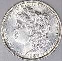 1889-O Morgan Dollar; Flashy Choice AU-BU