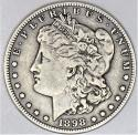 1898-S Morgan Dollar; Choice Original VF+