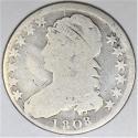 1808 Capped Bust Half Dollar; G; O-102a