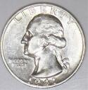 1941-S Washington Quarter; Flashy, Choice AU-BU