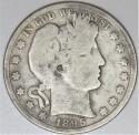 1895-O Barber Half Dollar; G-