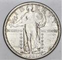 1917-D Type 2 Standing Liberty Quarter; Uncirculated*