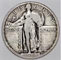 1924-D Standing Liberty Quarter; Choice Original F+