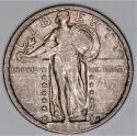 1924 Standing Liberty Quarter; Nice Original AU+